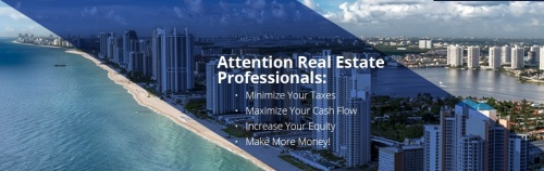 Real estate professionals, taxes, cash flow, equity, making money